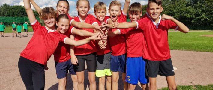 Pokal geholt – Unsere Schule siegte beim Gemeindesportfest