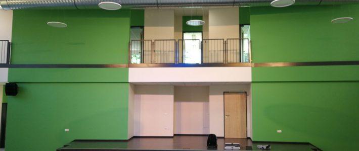 Baustelle-2108 Einweisung zur Bühnentechnik wurde verschoben