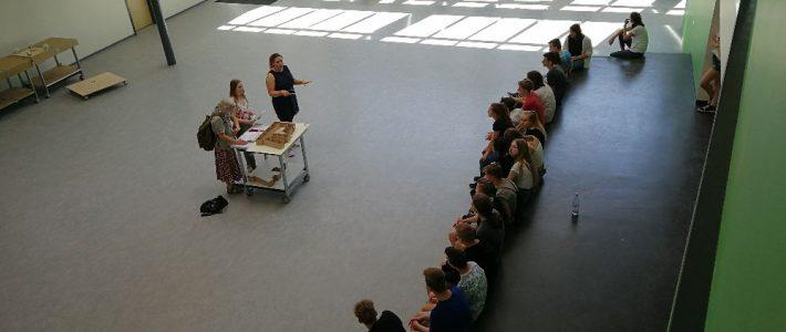 Führungen für Schüler im neuen A-Gebäude