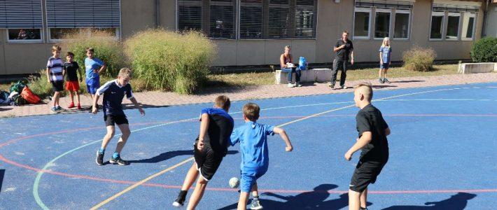 Kleinfeldfußballturnier auf dem Hof B/C