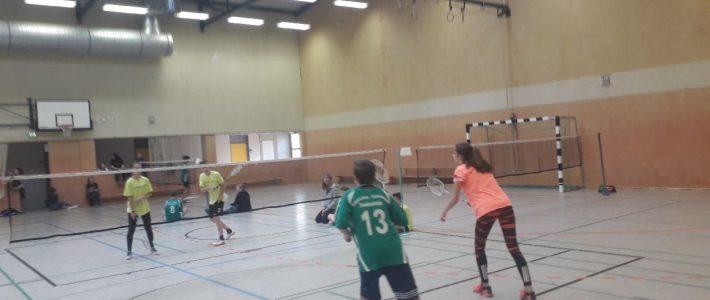 Badminton JTFO Kreisfinale