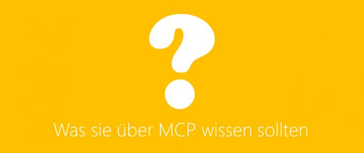Was Sie über MCP wissen sollten