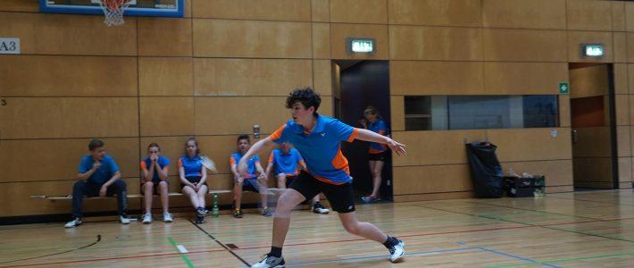 Badminton Bundesfinale mit Schulteam in der Max-Schmeling-Arena