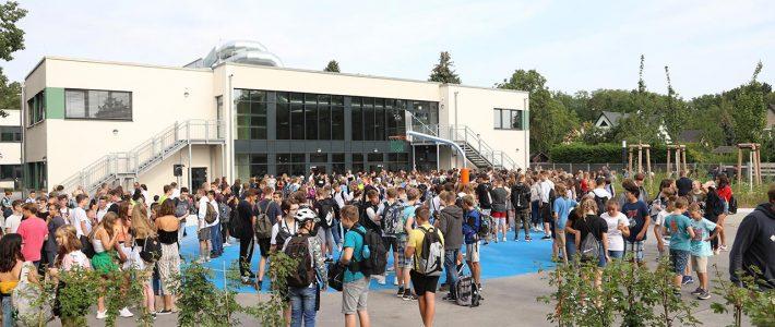Begrüßung zum neuen Schuljahr