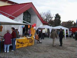 Zweifelderhalle Einweihung 2001