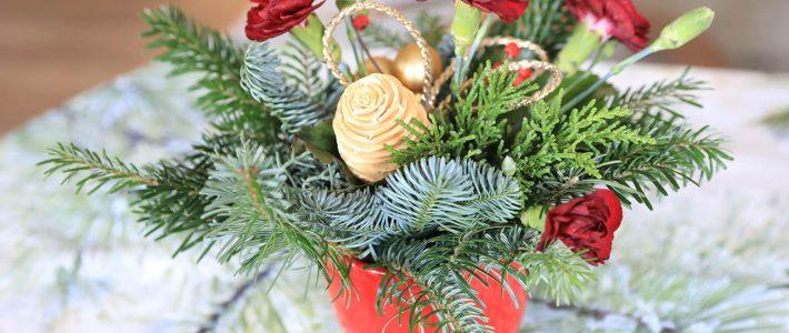 Dank zum Weihnachtsfest und zum Jahreswechsel