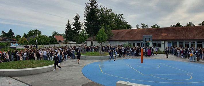 Das Schuljahr hat begonnen – Begrüßung